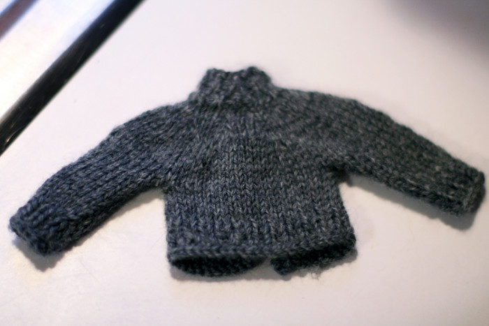 8.Didn't read the instructions for washing a wool sweater.
