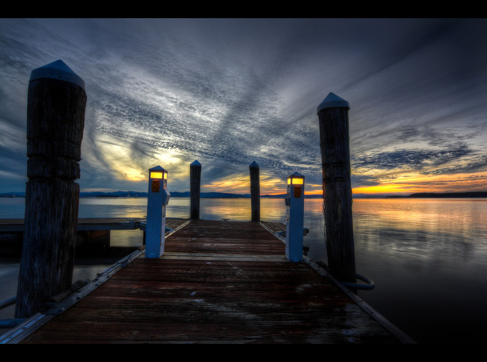 8.Twilight Dock.