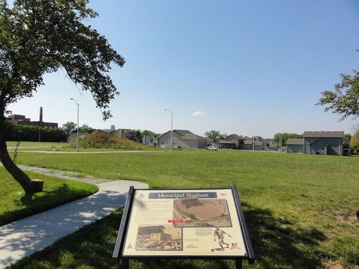 8. 1200px-Kansas_City_Municipal_Stadium_site,_2012