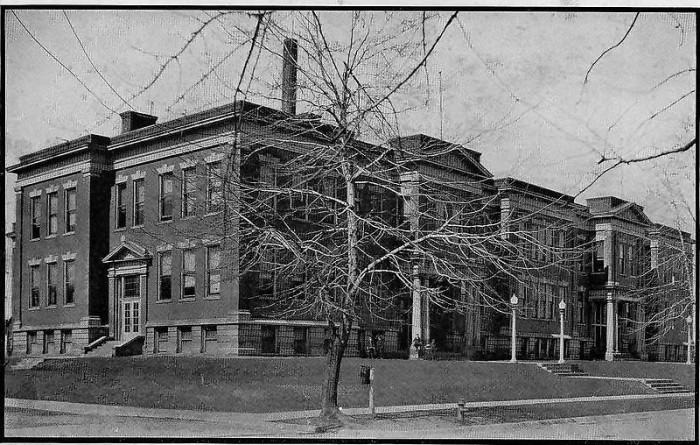 8. This one is a gorgeous picture of Hartford City High School from 1923.