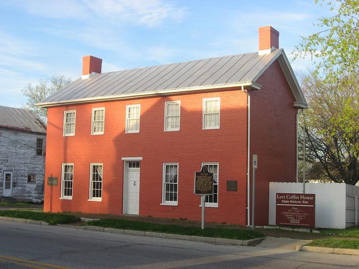 2. Levi Coffin House