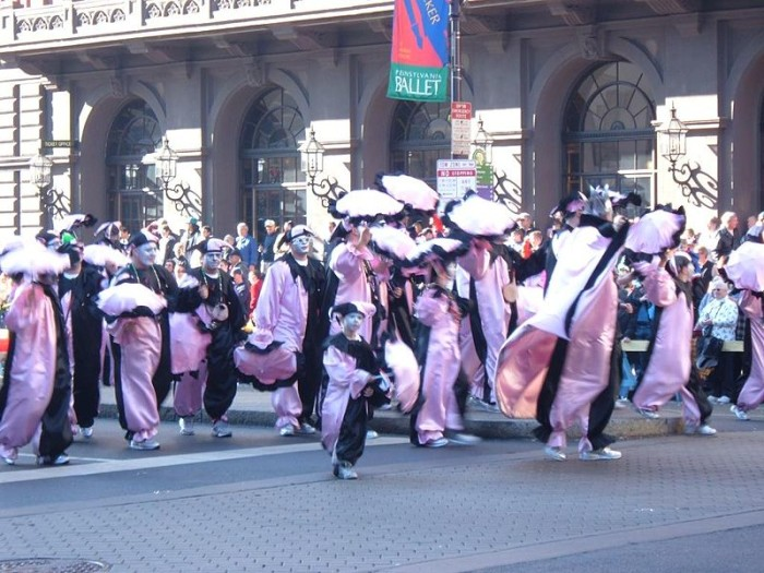 1. Start the year off by going to the Mummers Parade in Philadelphia.
