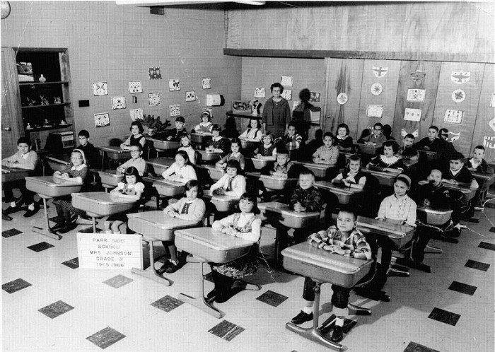 7. Check out this Parkside Elementary 3rd grade class from 1965.
