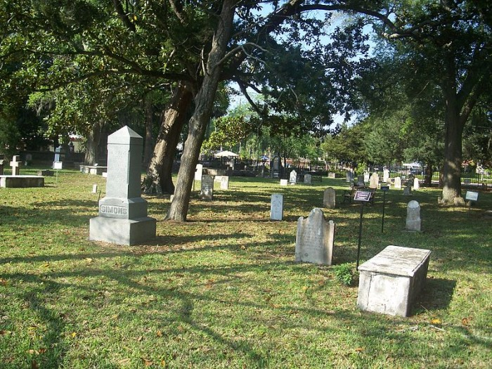 3. Judge John B. Stickney and the other spirits of the Hugenot Cemetery