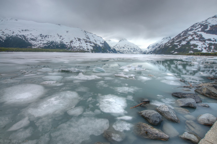 9) Portage Glacier keeps the waters chilly.