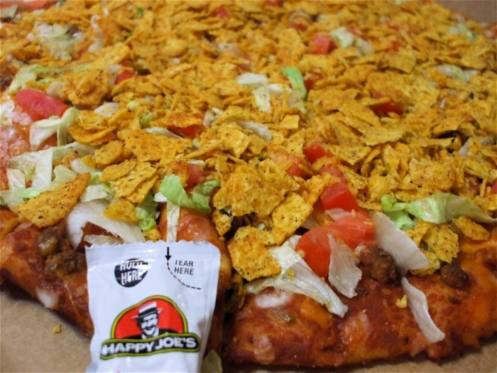 8. What's with taco pizza?