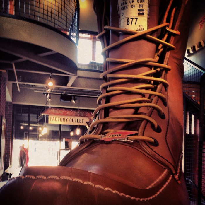 4. Red Wing - World's Largest Boot.