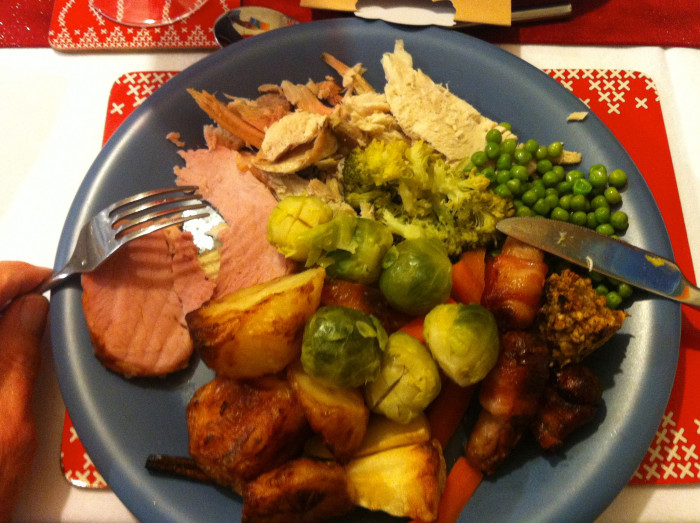 8. And nothing beats a home-cooked Christmas dinner, Iowa style.