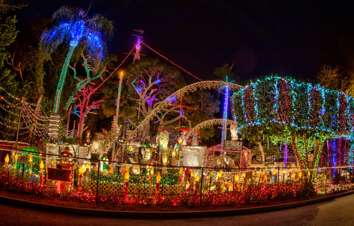 7. The Oakdale Christmas House, St. Petersburg