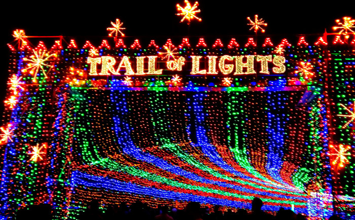 2. Trail of Lights (Austin)