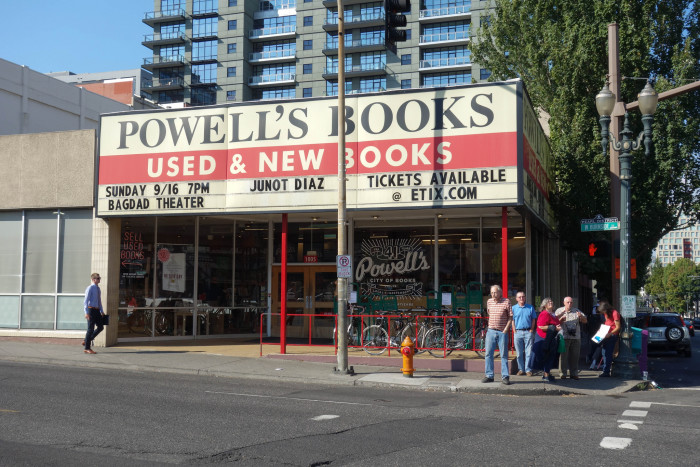 5. Buy a book from the original Powell's Books in Portland.