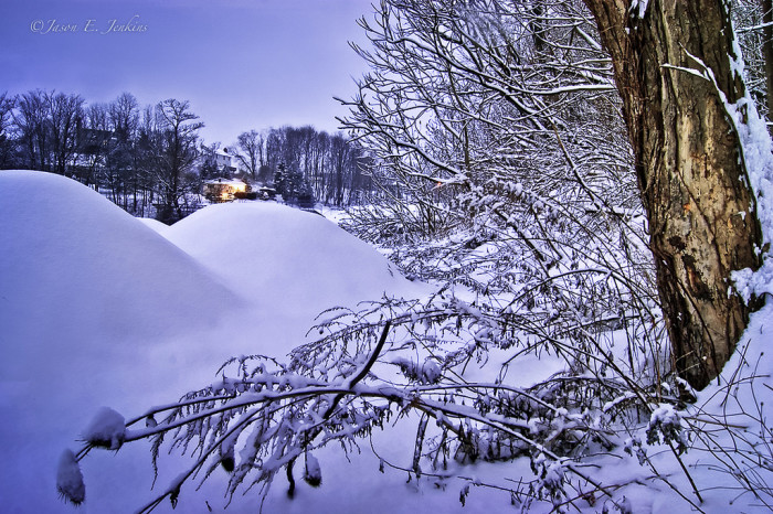 11. Winter storm Freyr hits Sussex in 2012.