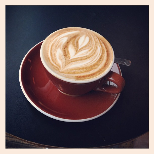 3. Had an amazing cup of coffee.