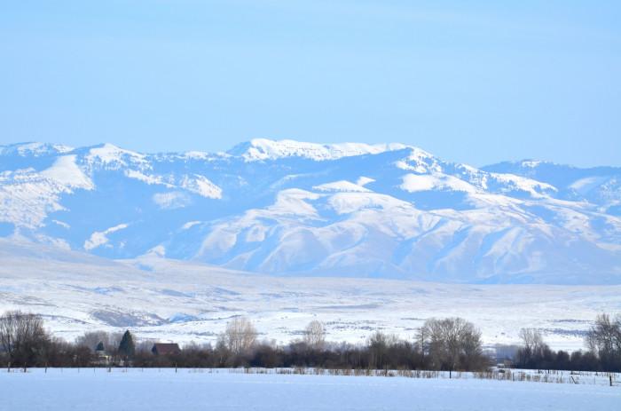 11. Wallowa Mountains.