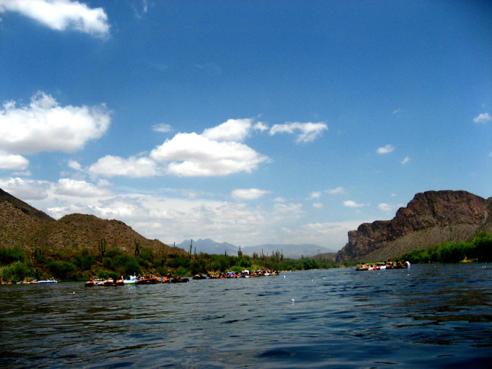 3. Tube the Salt River.