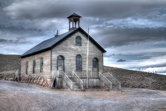 3. Buena Vista One-Room Schoolhouse - Unionville, NV