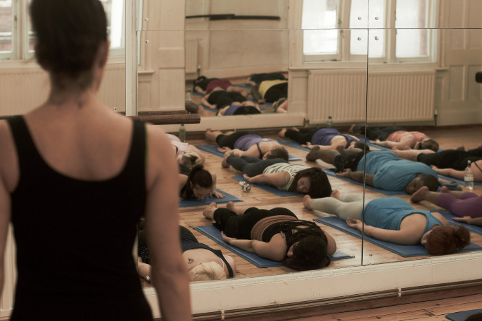 2) Take a yoga class or two.