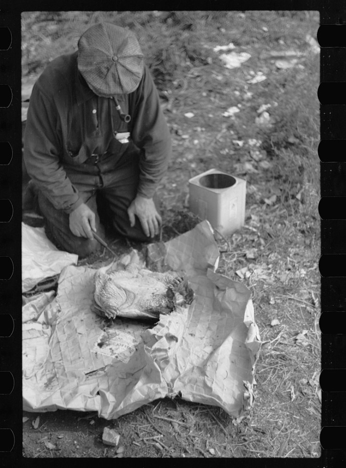 4. This homeless man killed a turtle to make soup with in Minneapolis in 1939.