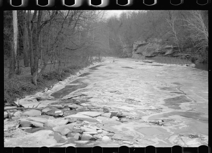 5. Here is what Turkey Run looked like in the 1930s!