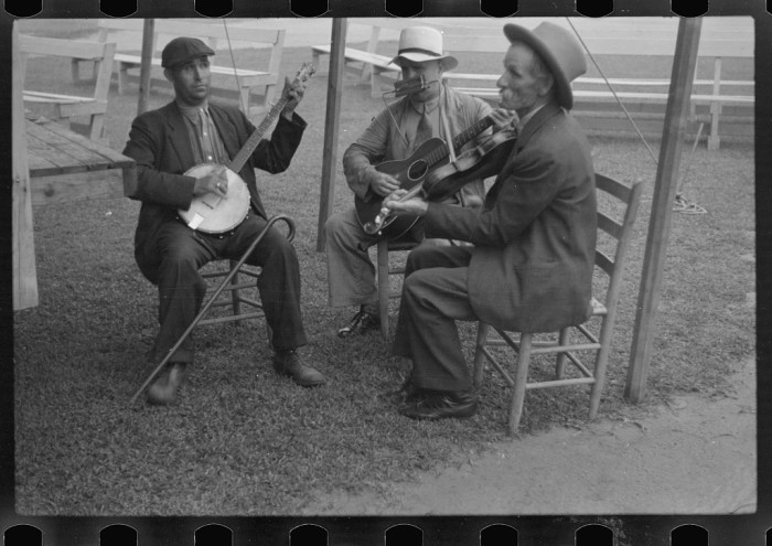 6. A musical trio.