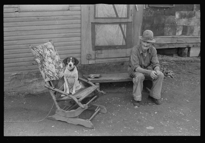 "14. William A. Swift, a farmer before he became a resident of Circleville's ""Hooverville."""