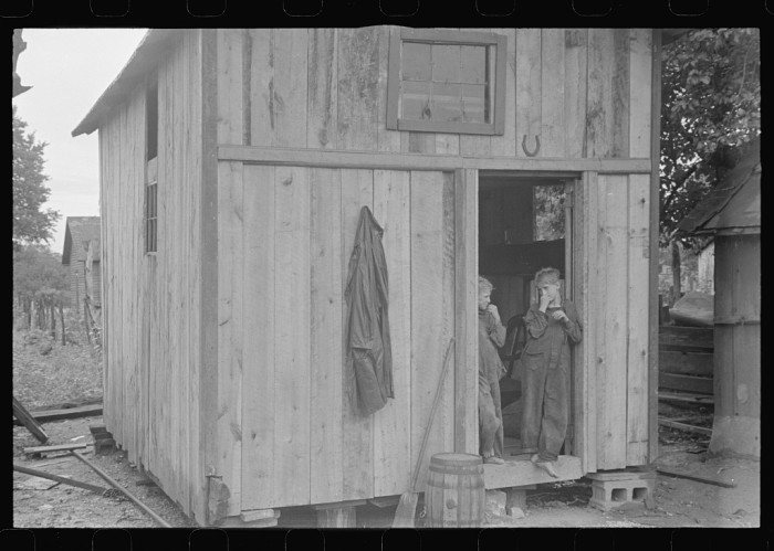 "12. Dwellers of Circleville's ""Hooverville"""