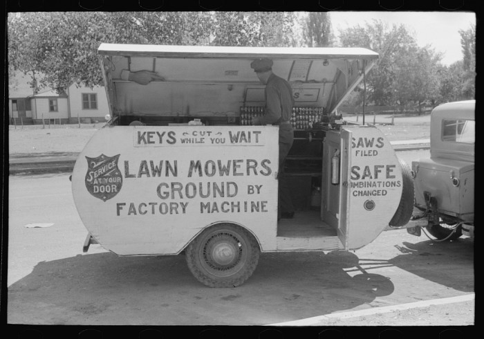 23. This guy had a traveling locksmith and mower sharpener business in Saint Johns in 1939.
