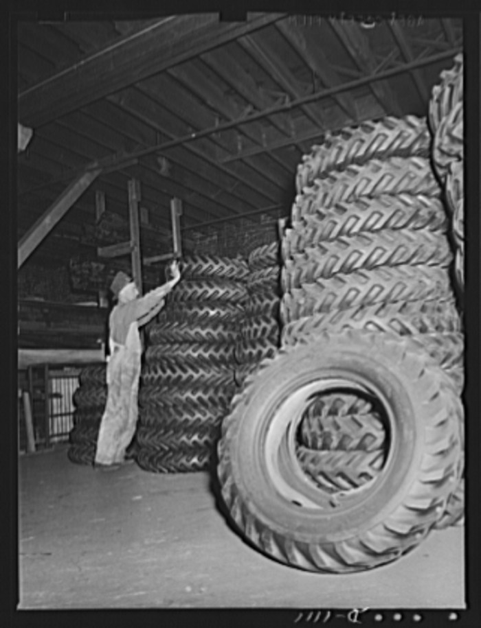 "11. ""Trailers for defense transportation. Winter Weiss Company, Denver, Colorado. Tiers (7.00 x 20) to equip semi-trailers of the combination platform stake type. These trailers are used for general trucking around Army Camps and depots."""
