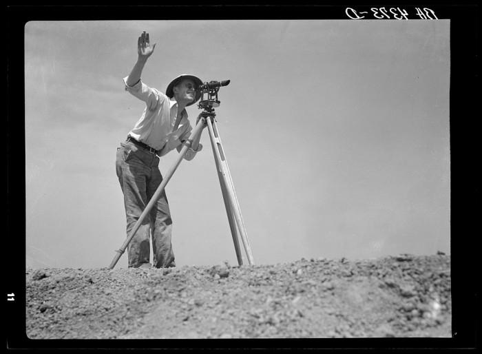 3. A surveyor.