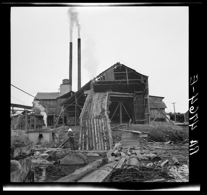 "2. ""Sawmill. McMinnville, Oregon"""