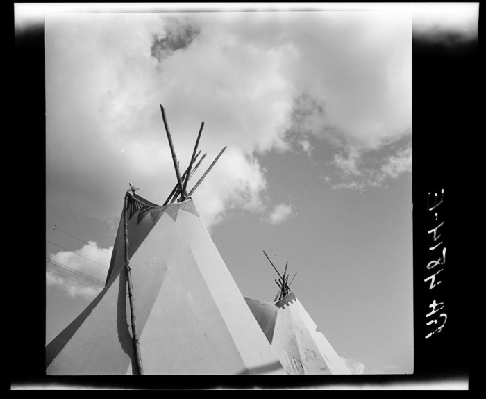 "4. ""Indian tepees. Molalla Buckeroo. Molalla, Oregon"""