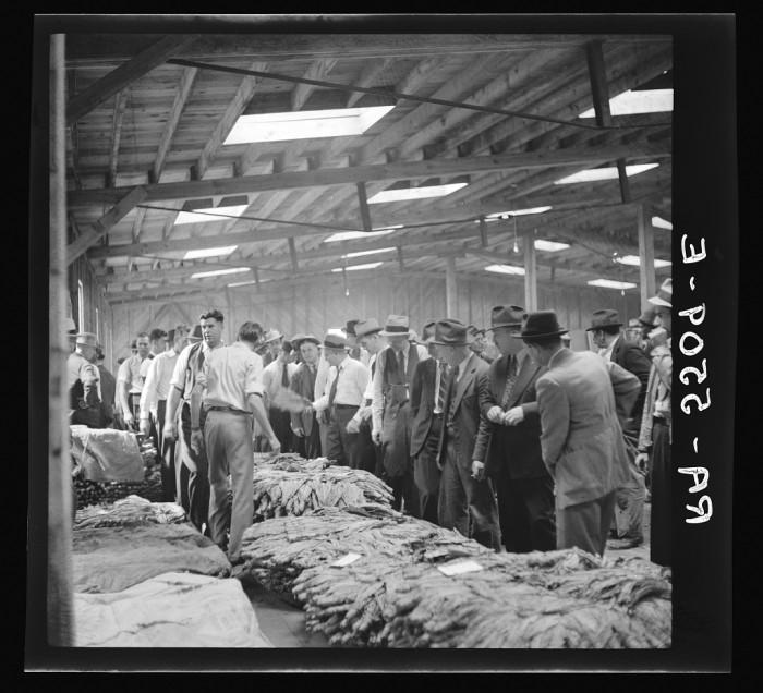 9. A tobacco warehouse.
