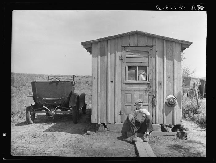 "6. ""Home of worker in strip coal mine."""