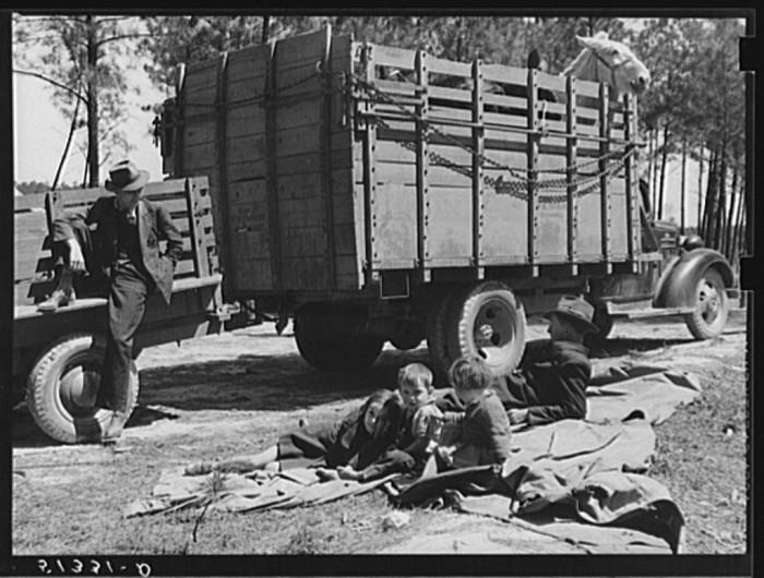 2. Mule Salesman in rural parts of Georgia - May 1939