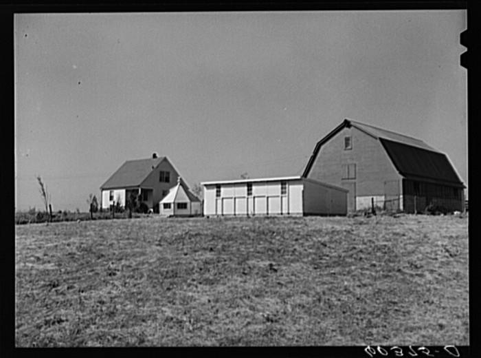"5. ""Farm at Greenhills, Ohio."""