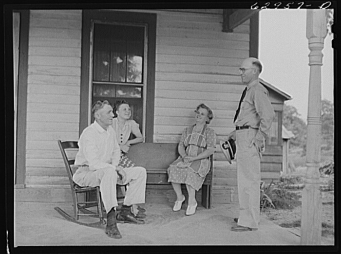 4. This is Lieutenant Sedgewick of United States Navy talking to his family in Martin County.