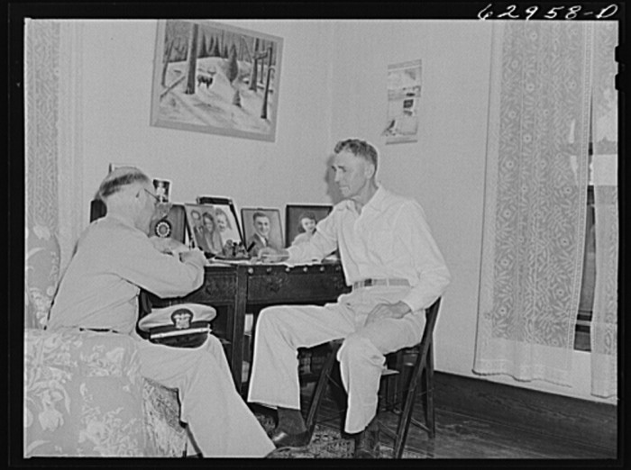 5. Here is another one of Lieutenant Sedgewick of United States Navy. He is talking about acquisition of land with this gentleman.