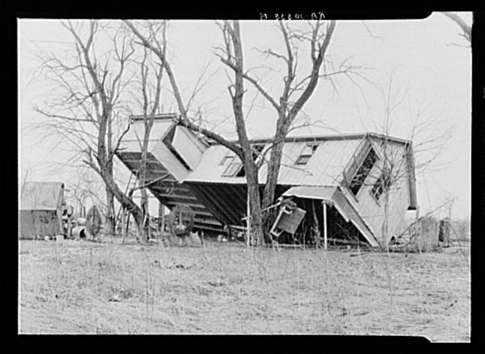 Federal and state resources were strained to aid in the recovery as the disaster occurred during the Great Depression and a couple years after the Dust Bowl.