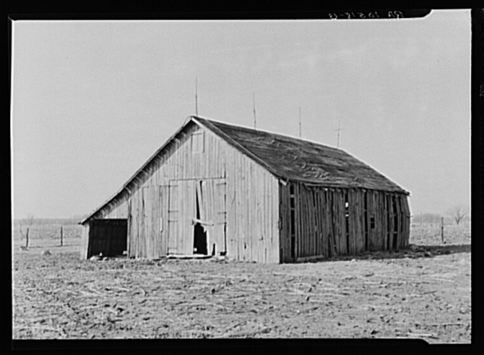 12. This barn in Templeton was photographed in 1937.