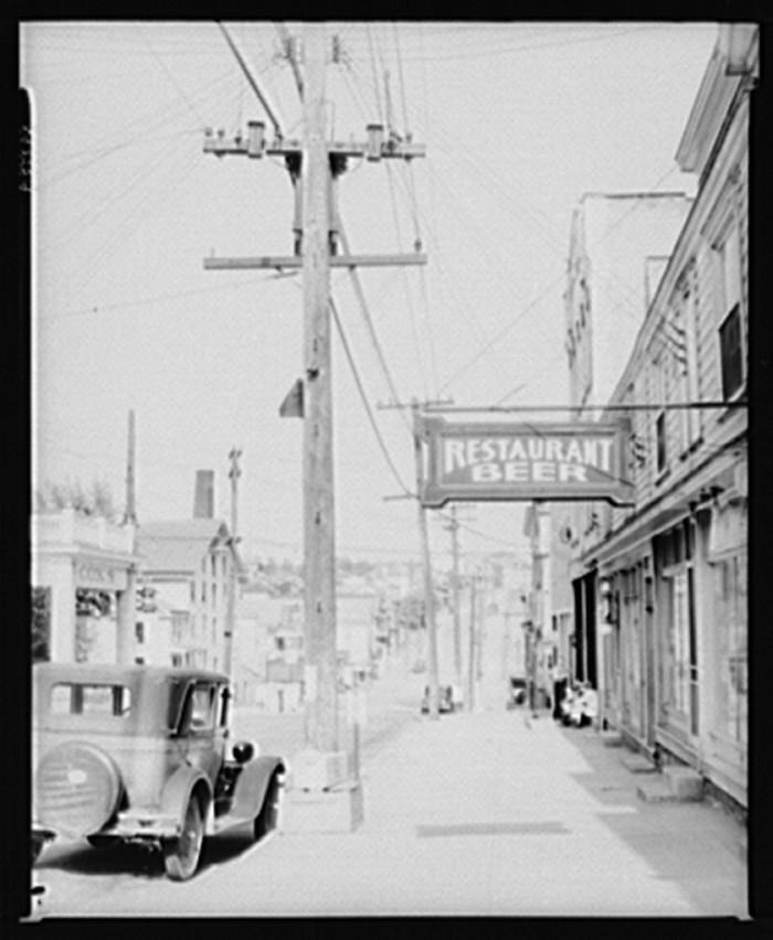 7. A walk down Main Street.