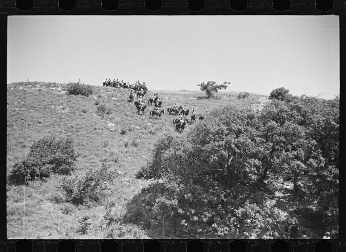 "4. ""Cavalry unit moving over difficult terrain."""