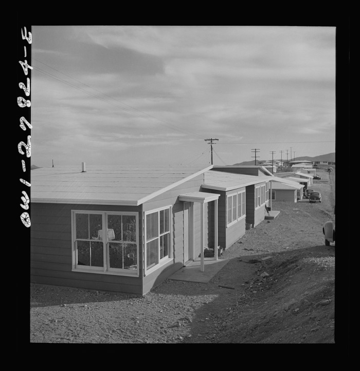 13. Here's an example of some brand new housing for mining employees in Morenci back in 1942.