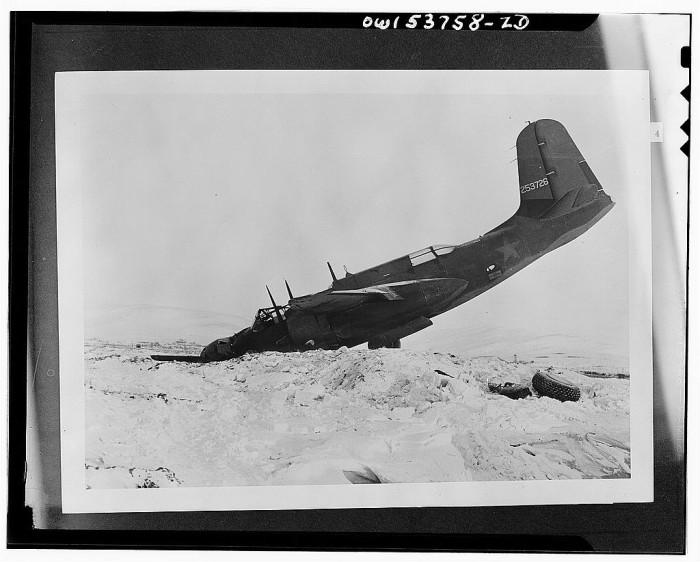 1) Plane crash in Nome.