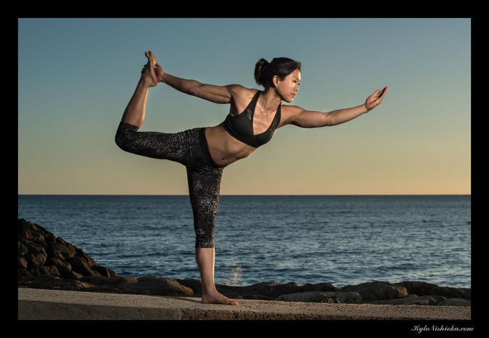 9) Do some yoga.