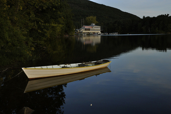 9.  Lake Bomoseen, West Castleton.