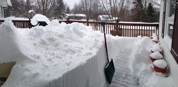 9.Snow shovel.