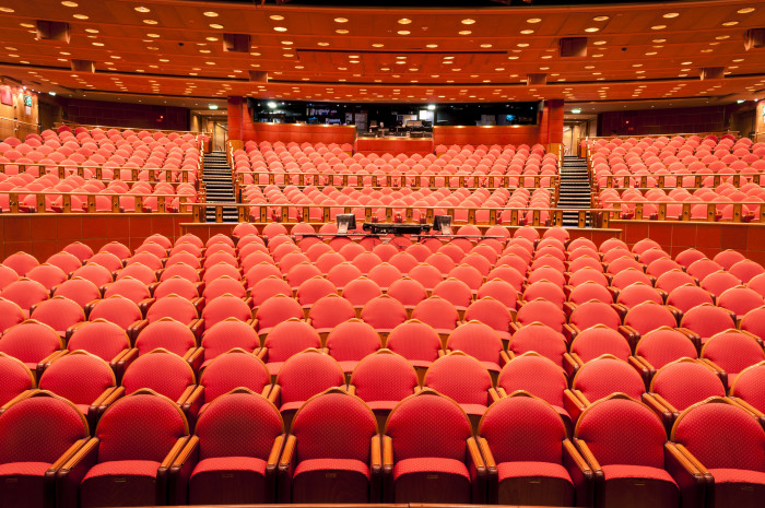 13) Attend the theater.