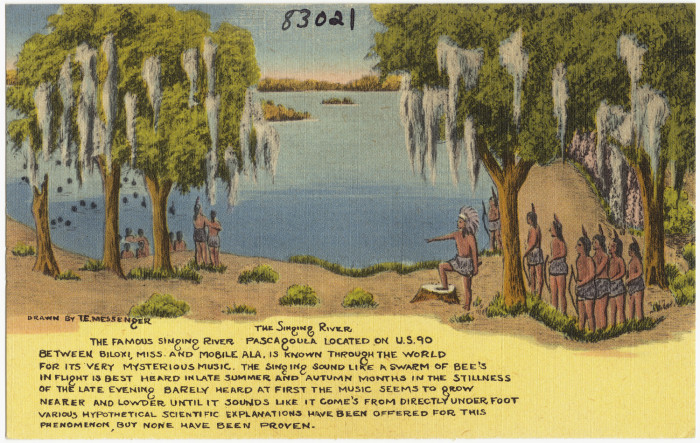 9. The Pascagoula River (a.k.a. the Singing River)