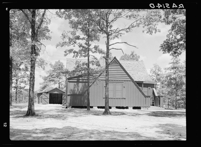 9. A newly constructed Hattiesburg home is completed in September of 1935.