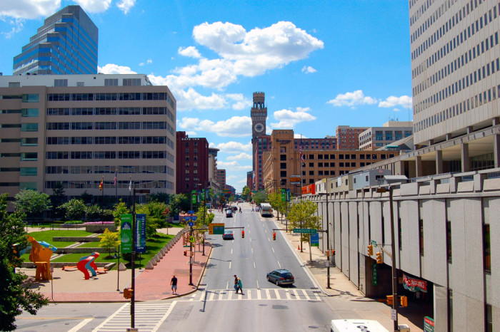 1) Baltimore